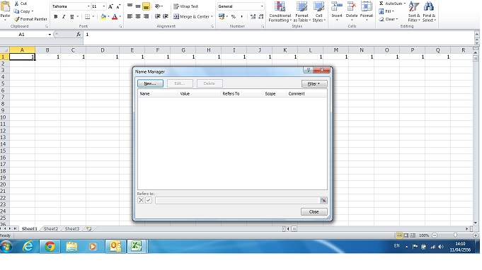 excel control key and cell Select all the continous cells around the active cell: return to the cell a1 + return to the last cell known by excel (and it's not necessarily the last cell of your array).