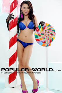 Anggita Sari for BFN Popular World Magazine, July 2012