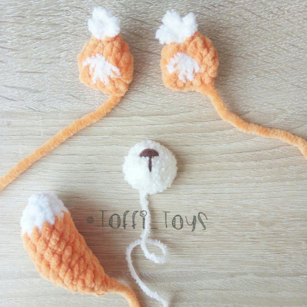 Crochet squirrel free amigurumi pattern
