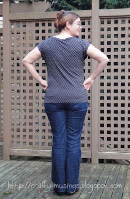 Kimono Tee 2, back view