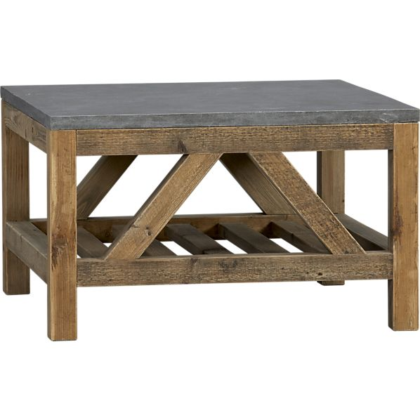 Coffee Table With Bluestone Top