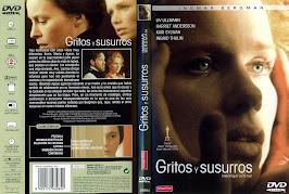 Gritos y susurros (1972) - Carátula