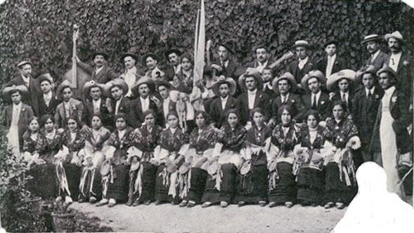 Rancho das tricanas de Condeixa nas festa de S. João