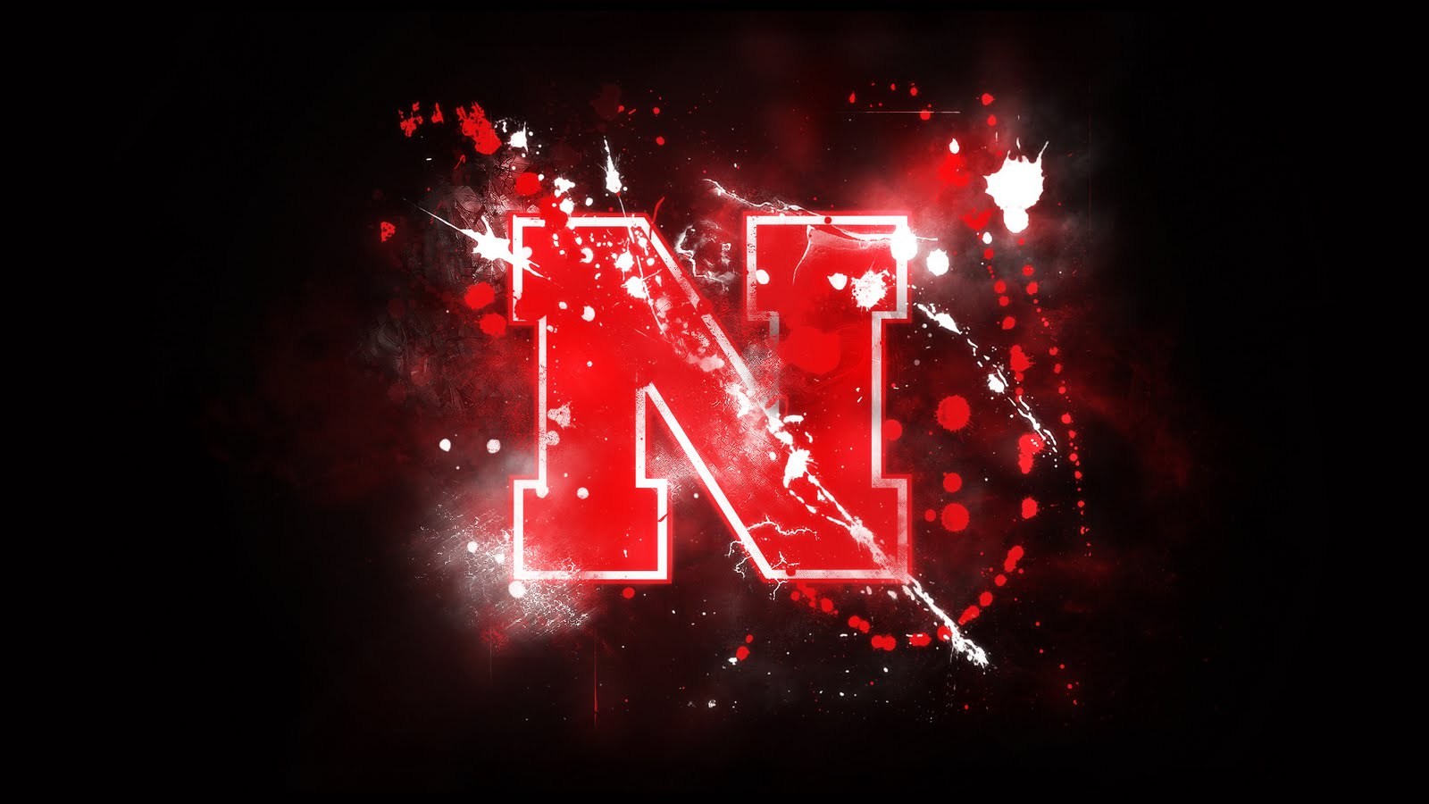 N Name Logo Wallpaper Nebraska Football : No...