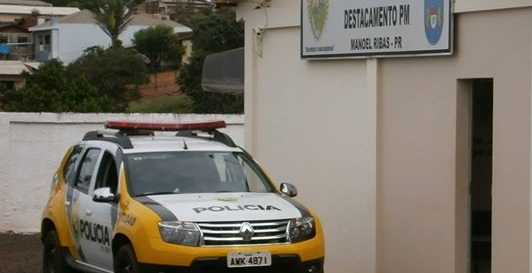 Manoel Ribas: PM tem trabalho. Furto de motocicleta e residência