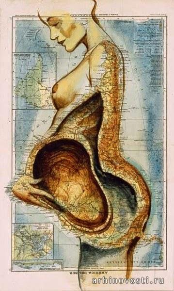 Карта Южной Америки, Фернандо Винсенте (Fernando Vicente)
