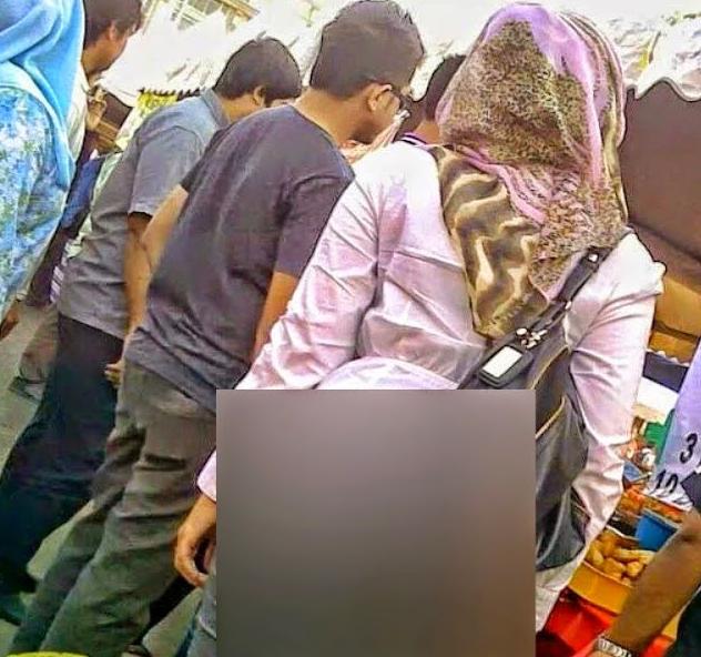 Malay sambil tengok tv3 sambil tue kongkek 9