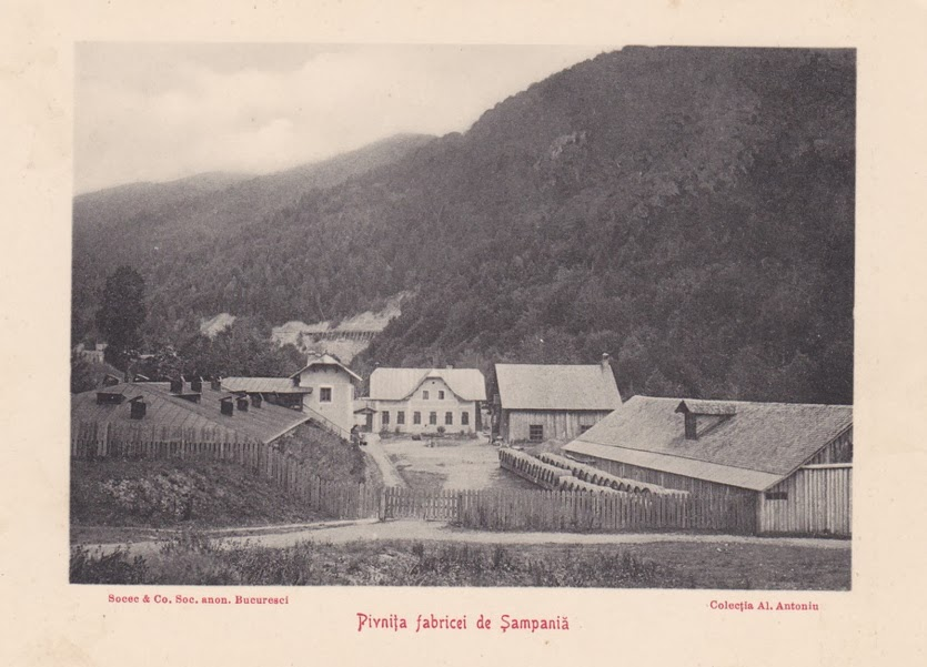 Pivnita fabricii de Sampanie