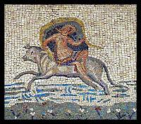 Mosaico del rapto de Europa  - Museo Nacional de Arte Romano (Mérida)