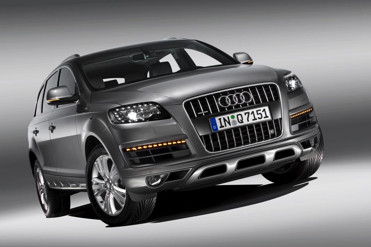 Audi Q7 2012 Exterior