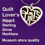Purchase your Quilt Lover's Heart Today!