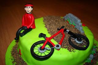 bolo ciclista bicicleta crianças