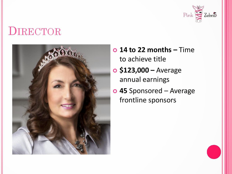 Pink Zebra consultant income image pic