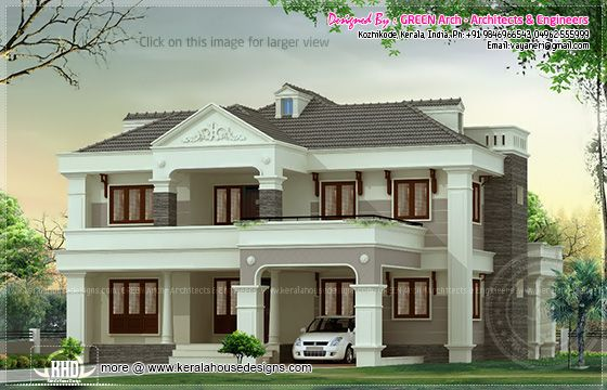2700 sq-ft villa design