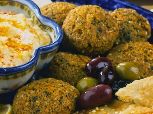 Chickpeas Balls. Monastic Recipe, Mediterranean Diet, Monastic Recipes of Holy Mount Athos,