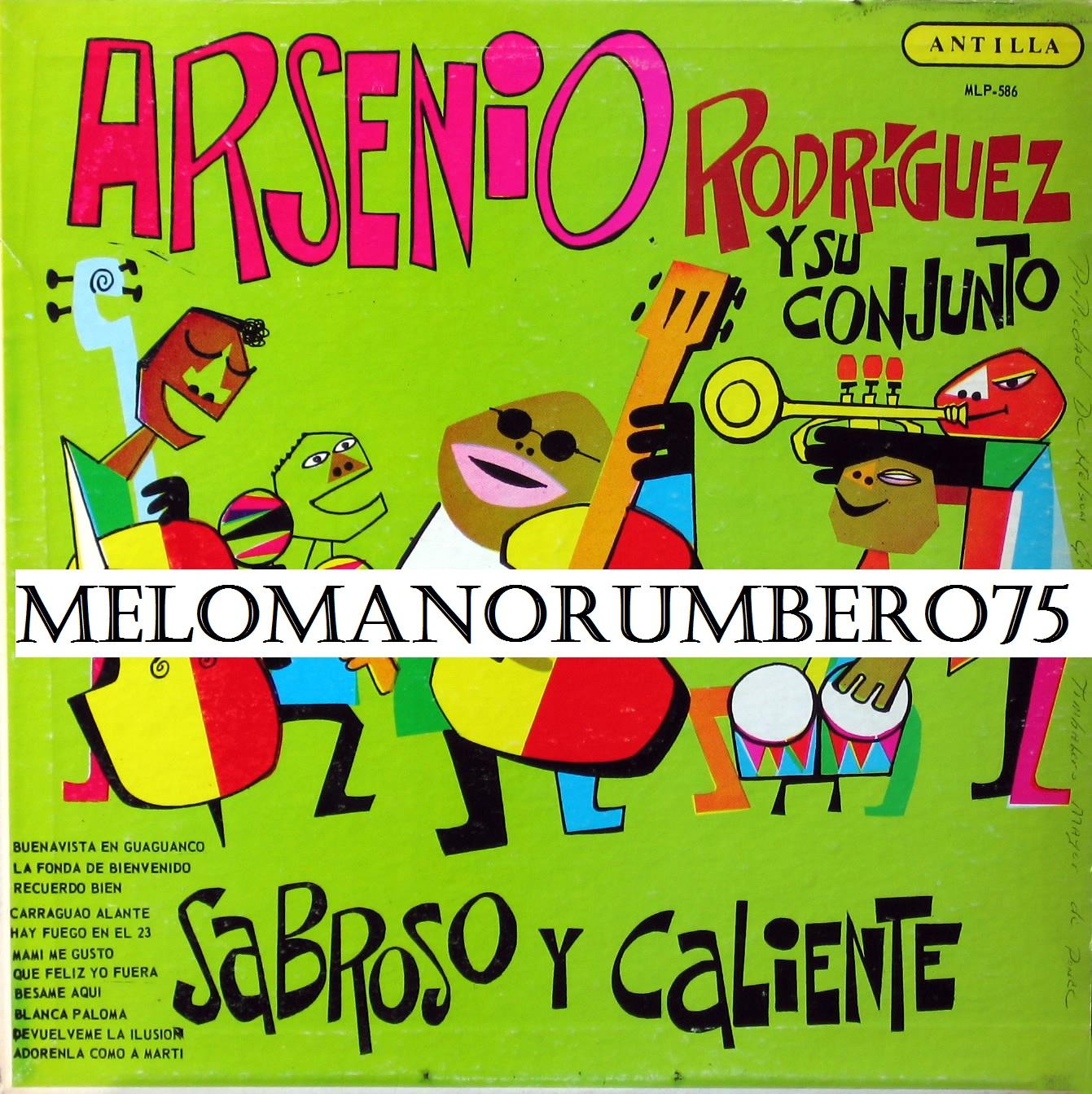 Arsenio Rodriguez Y Su Conjunto Sabroso y Caliente