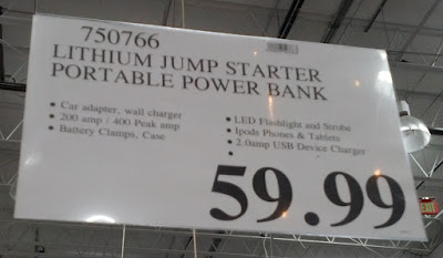 Deal for the Jump Start and Portable Power Bank at Costco
