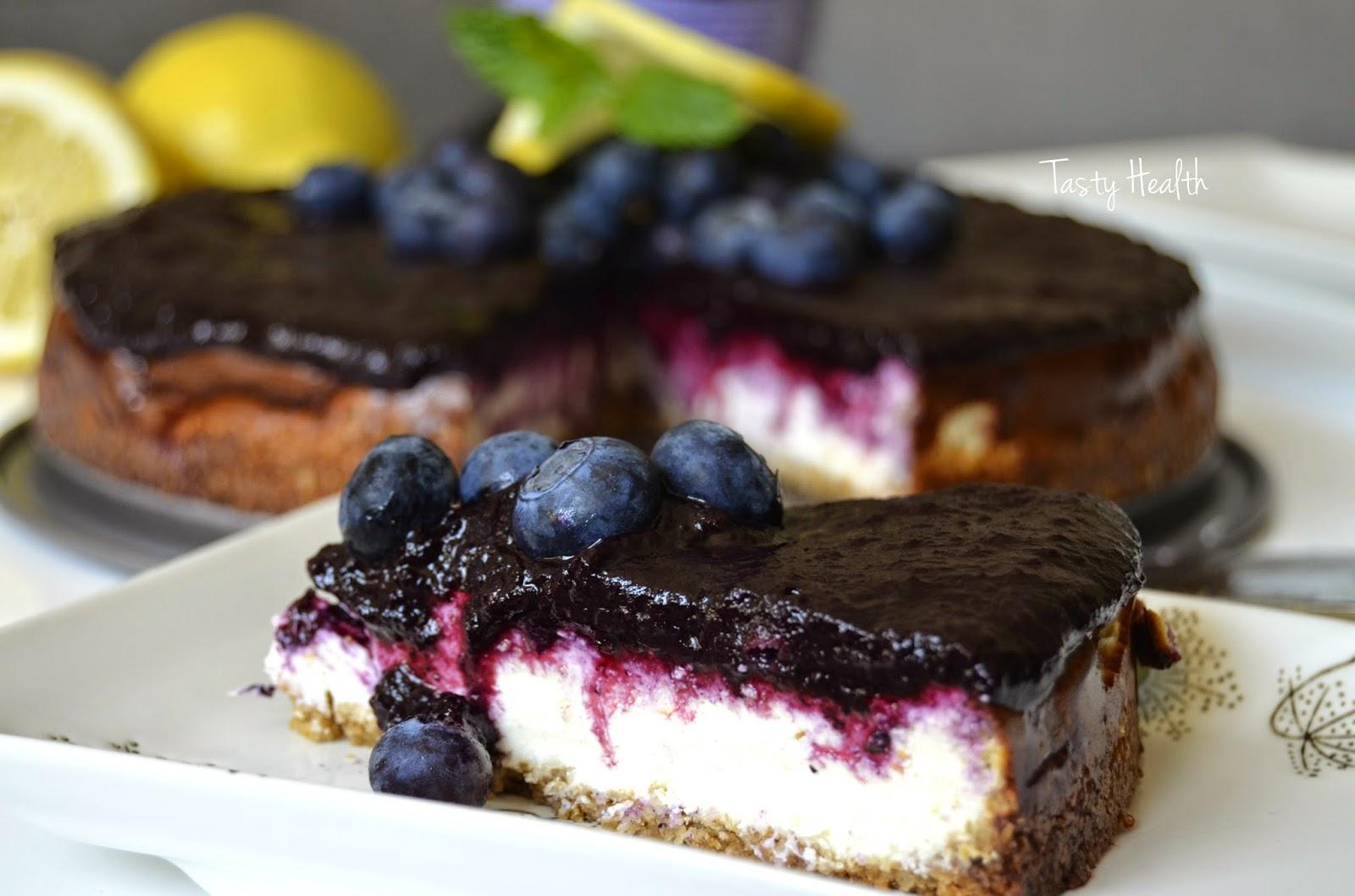 gluten och laktosfri blåbärspaj