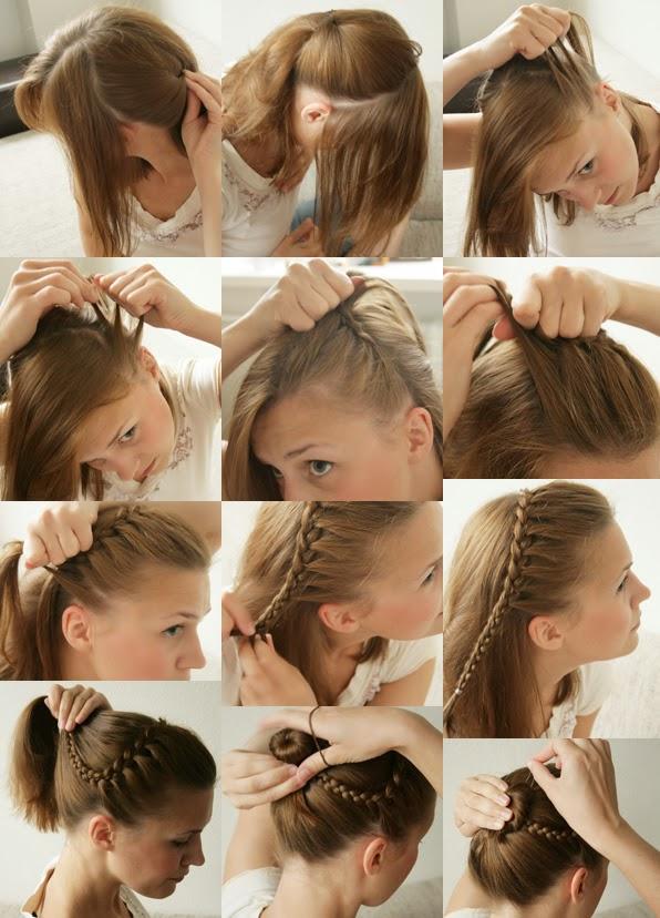 coiffure femme cheveux long noel
