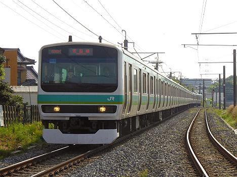 常磐線 E231系
