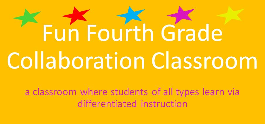 Fun Fourth Grade Collaboration Classroom