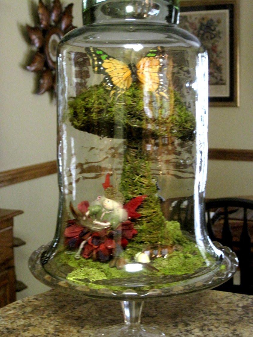 A mcinnis artworks spring cloche ideas for Bell jar ideas
