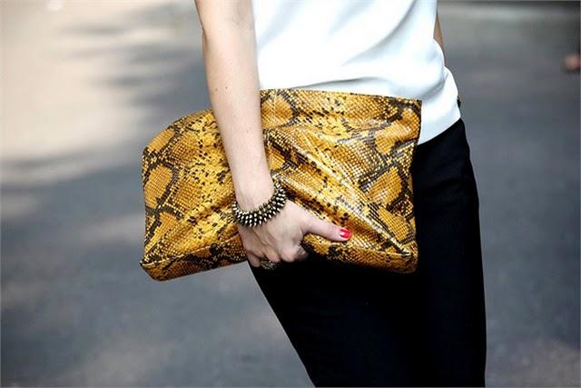 snake print trend 2013