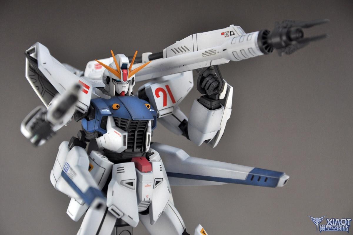 GUNDAM GUY: MG 1/100 Gundam F91 - Painted Build