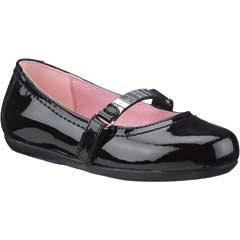 Zapato cerrado negro infantil modelo 3435