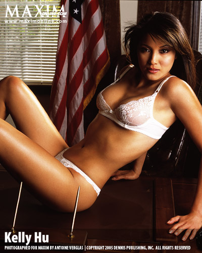 Kelly Hu maxim
