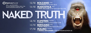 Naked Truth in tour. Ecco le date