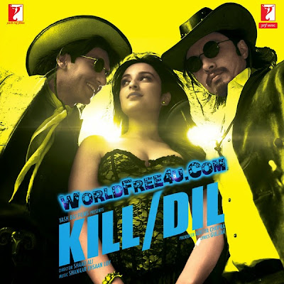 Poster Of Bollywood Movie Kill Dil (2014) 300MB Compressed Small Size Pc Movie Free Download worldfree4u.com
