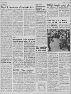 LOTTA CONTINUA 11 GIUGNO 1974