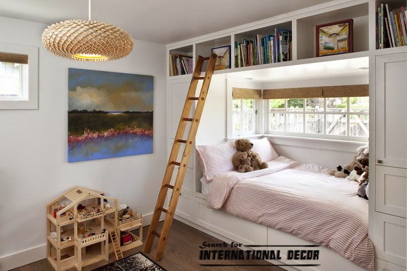 Design small childs room and How to save space