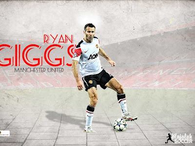 Wallpapers Ryan Giggs Manchester United (MU) 2012-2013