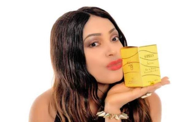 Tchidi Chikere's Ex Wife, Sophia Launches Her Perfume Line – Photos