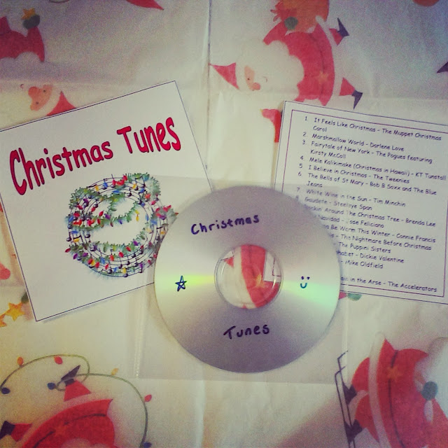 Homemade Christmas Tunes CD