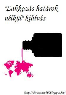 """""""Lakkozás határok nélkül"""" kihívás"""
