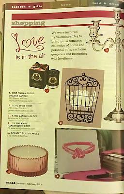magazine, tie the know, lino print card, hand press print