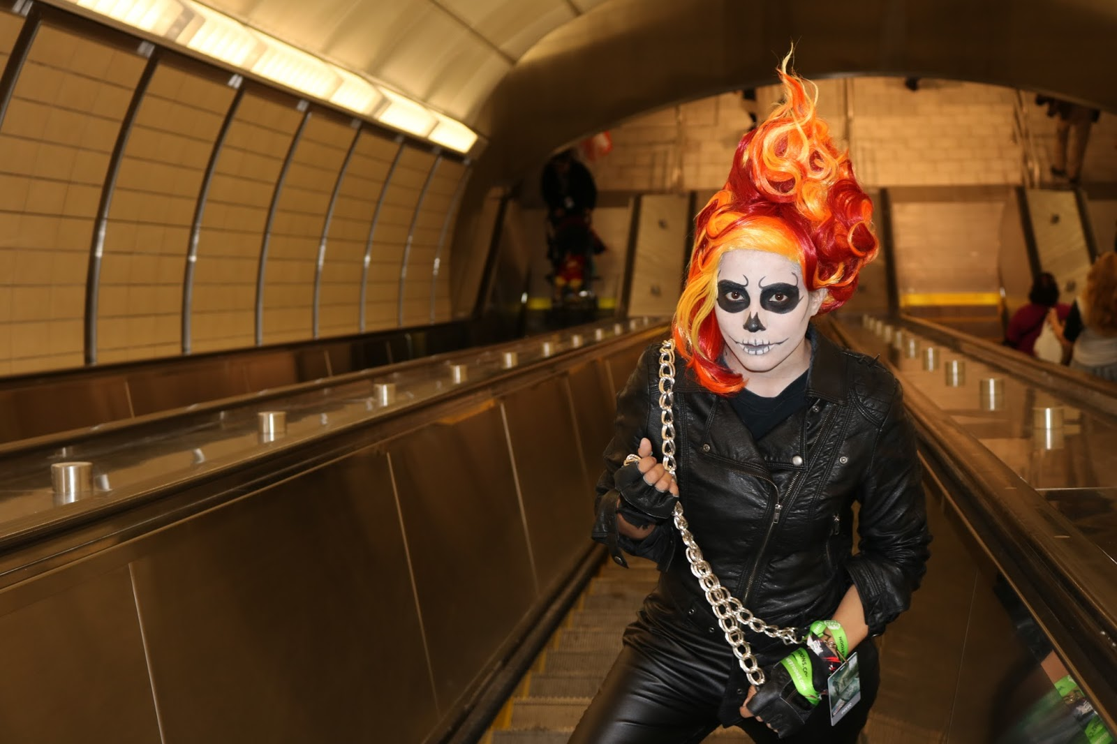 Ghost rider cosplay at new york comic con 2015 nubias nonsense like always life will show you anything is possible i know it sounds silly to say something like that about a costume solutioingenieria Gallery