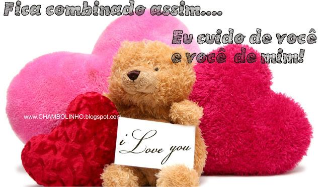 Recadinho Amor para facebook