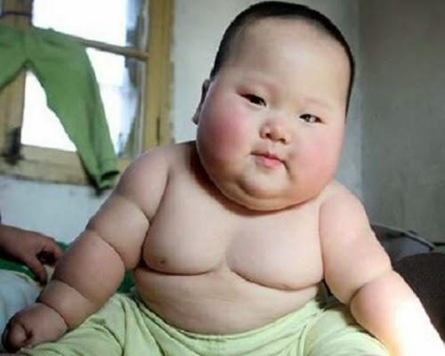 La Photo bébé obèse