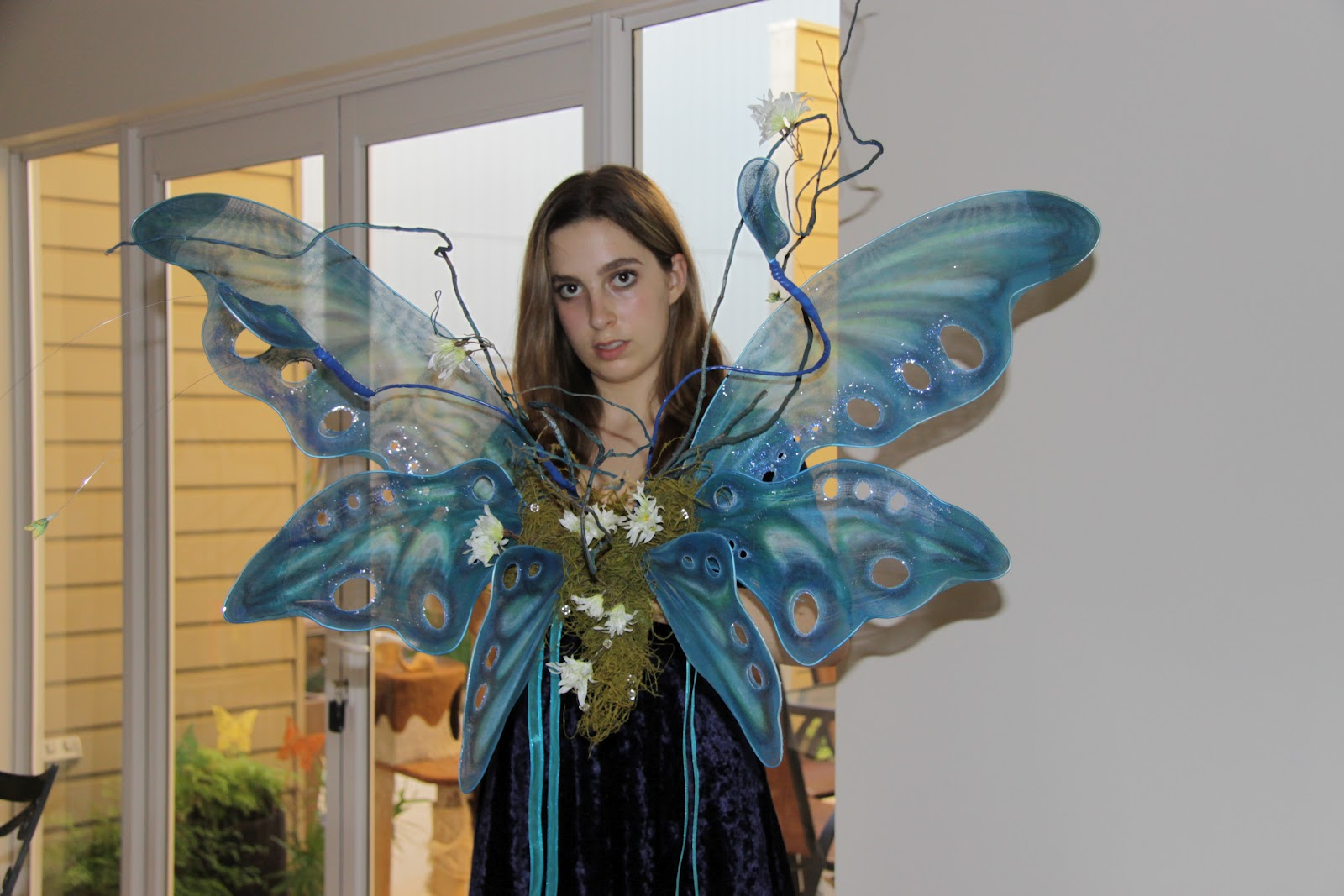 On a theme and with materials on hand the sport day costume had to be another fairy. I found an excellent fairy wing tutorial featuring Emilie Autumn.  sc 1 st  Give it a Whirl & Give it a Whirl: Fairy Costumes Complete Time for Sport Day Costume