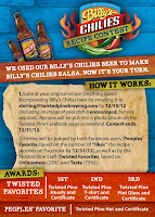 Billy's Chilies Contest