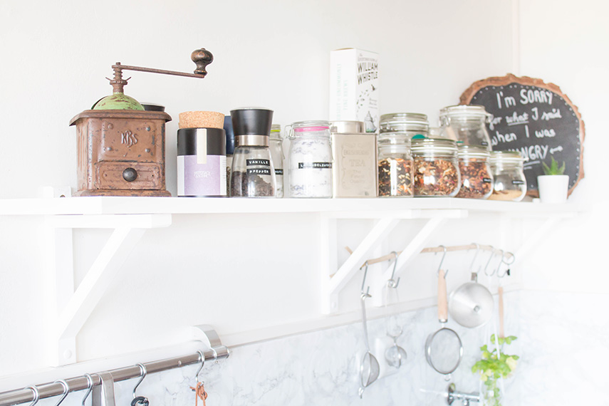 Kitchen Greens und ein kleines Küchen-Makeover | ars textura - DIY ...
