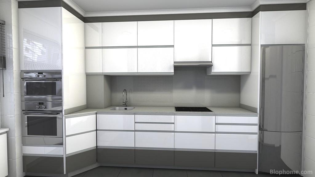 Indicoc muebles de cocina: Diseño cocina con plano de instalaciones