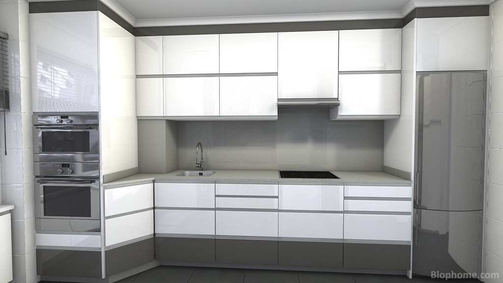 Indicoc muebles de cocina dise o cocina con plano de - Cocinas con diseno ...