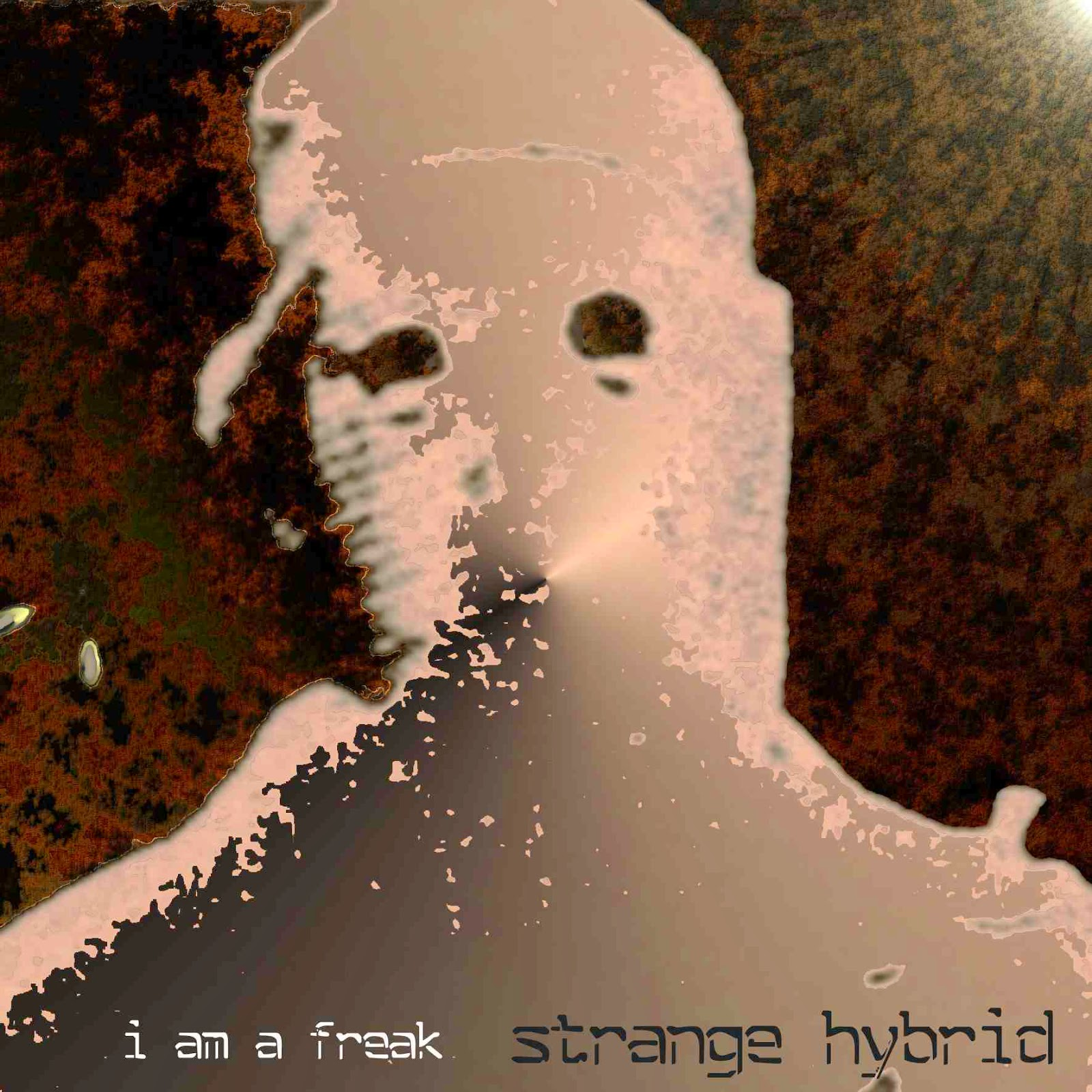 Splitting Sounds Records release album by i am a freak - Strange Hybrid