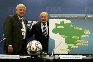 Todo listo para el sorteo eliminatorio de Brasil 2014