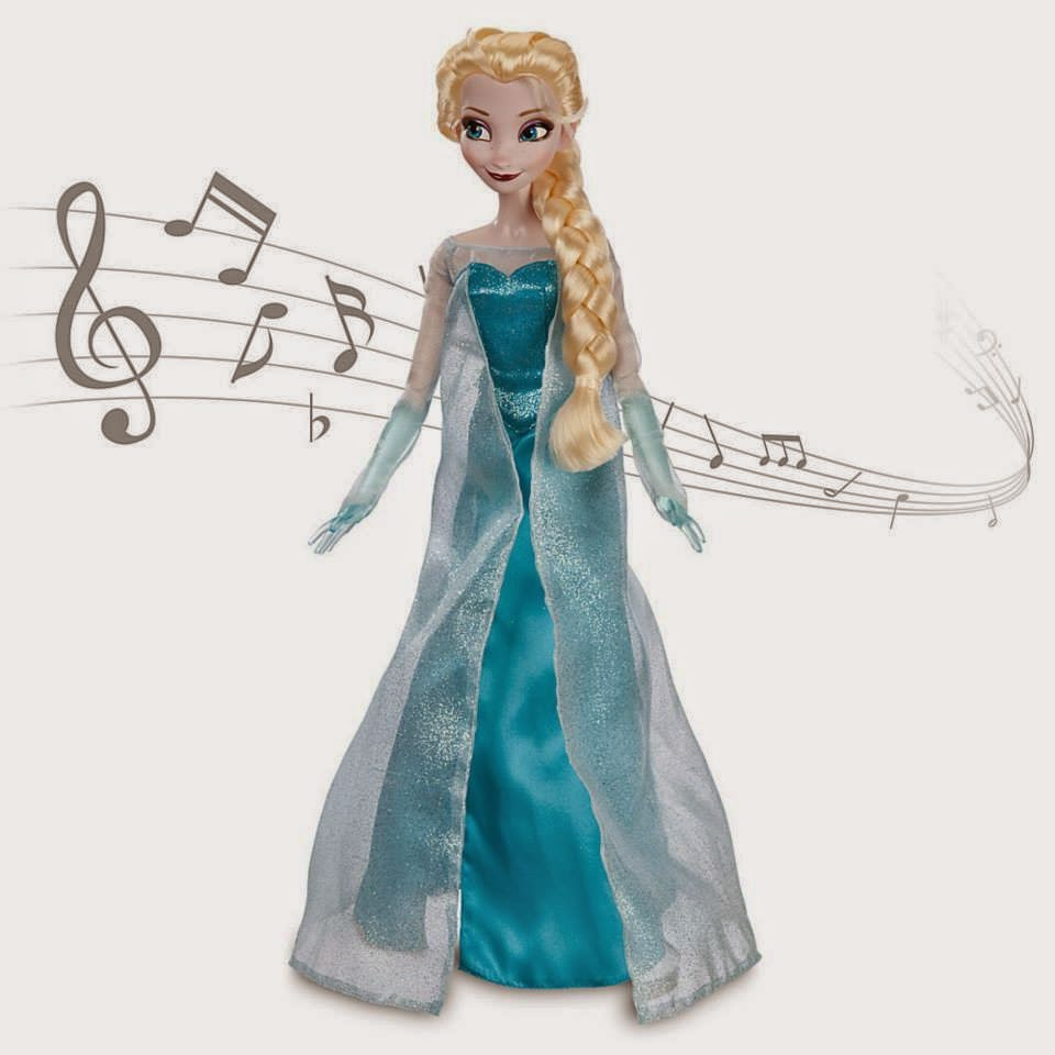 Gambar boneka elsa frozen untuk anak gratis